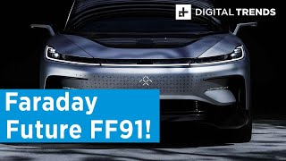 Faraday Future FF91 First Drive at CES 2020 | Raw power