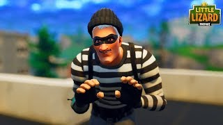 BURGLAR STEALS DE JOHN WICK! Court métrage Fortnite de NEW SKIN