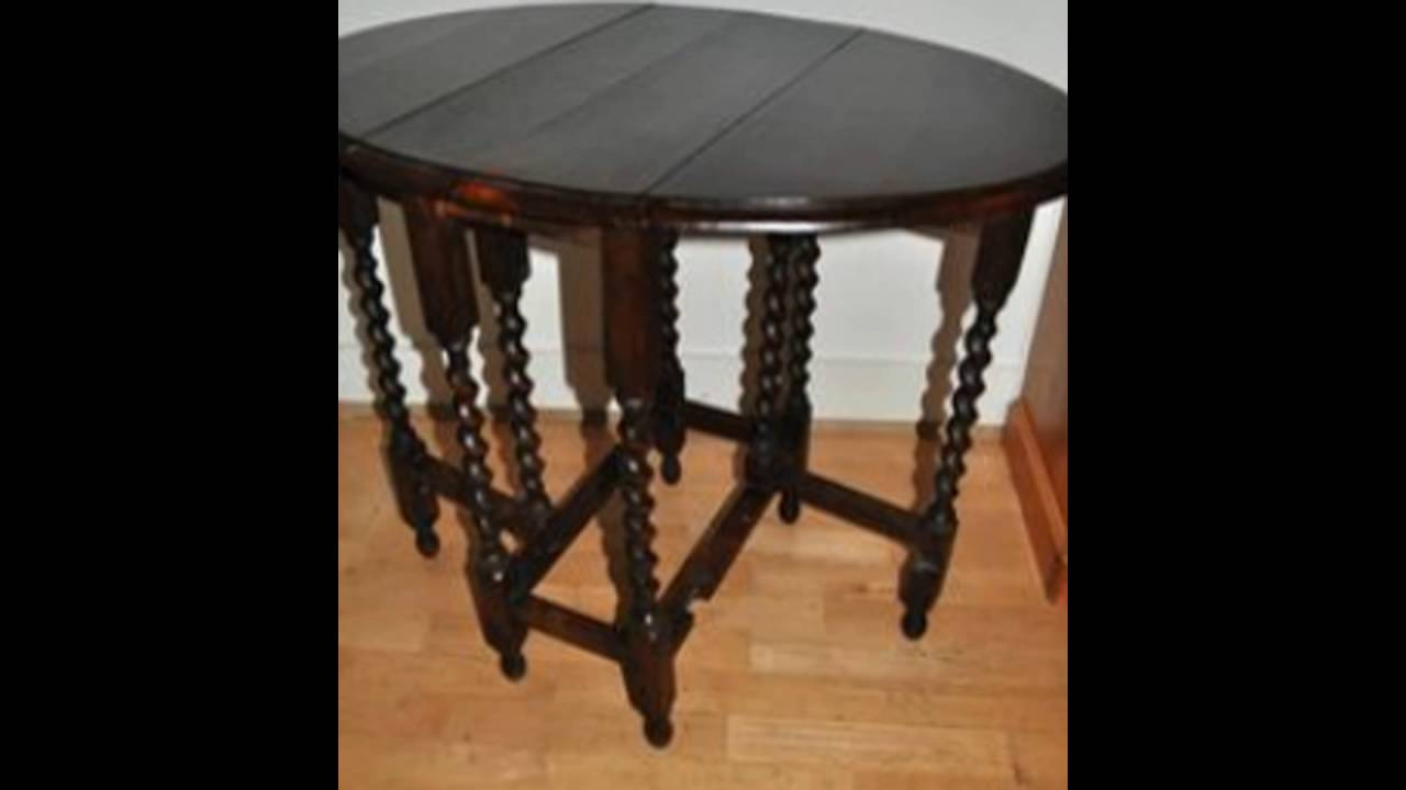 Twisted Wood Side Table