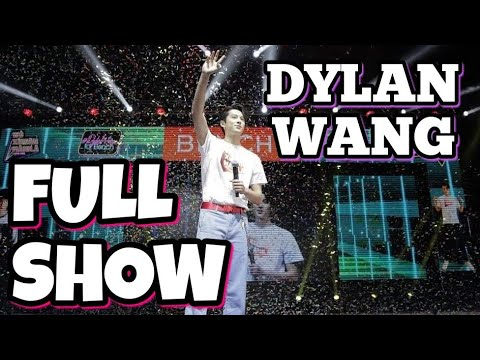 DYLAN WANG FOR BENCH (FULL SHOW MANILA PHILIPPINES)