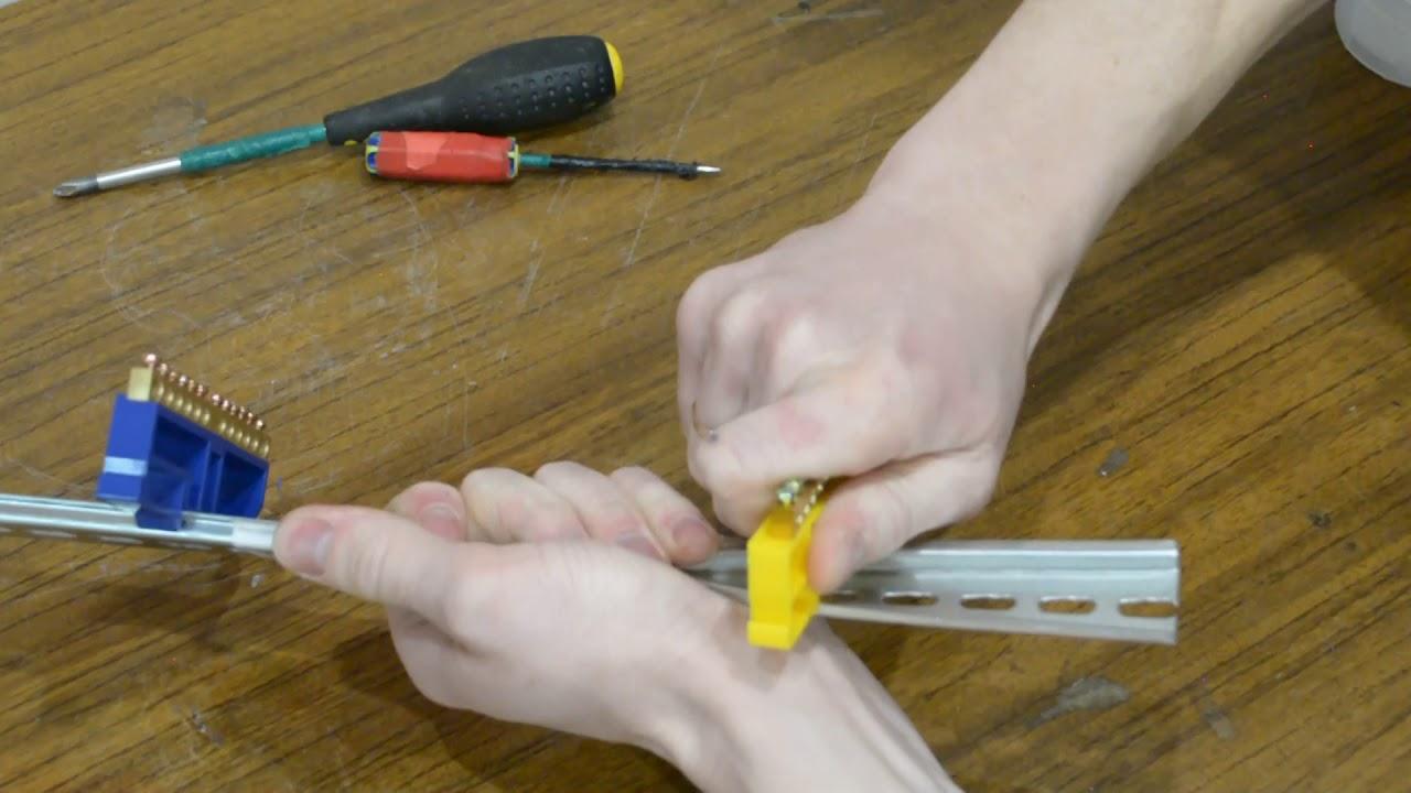 подключение нулевого провода и заземления в элетрическам щитке