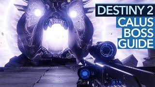 Destiny 2 Leviathan-Raid - Guide: So besiegt man Calus