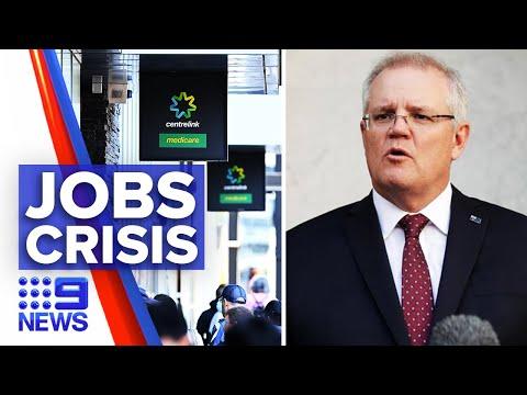 Australia Suffers Job Crisis | 9 News Australia