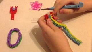 8 видео урок Rainbow loom