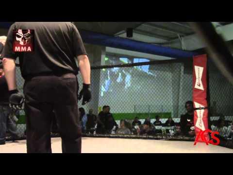 """Exiled MMA """"ANARCHY"""" Matt """"Ruthless"""" Mills Vs Jorden McDonald"""