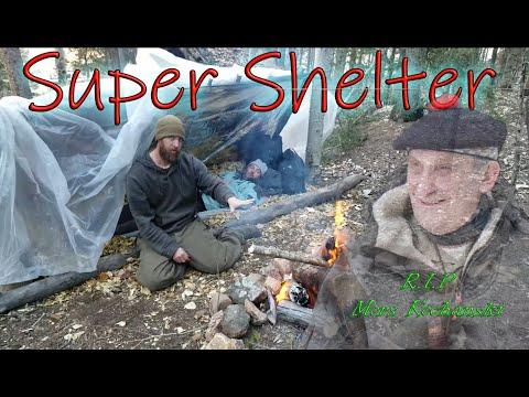 Super Shelter - How To Build A Super Shelter