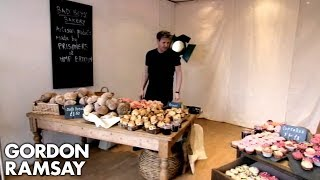 Gordon Ramsay Opens The 'Bad Boy Bakery' | Gordon Behind Bars