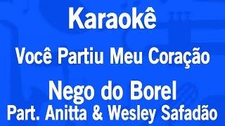 Baixar Karaokê Você Partiu Meu Coração - Nego do Borel Part. Anitta & Wesley Safadão