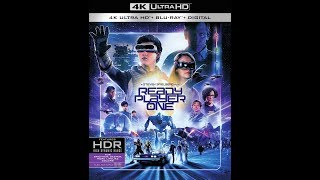 4K UHD review of READY PLAYER ONE| Soon to be released on blu ray DVD digital