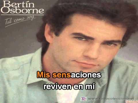 Bertin Osborne - Abrazame - Demo - Karaoke