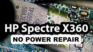 HP Spectre X360 No Power Repair - Both USB-C ports not working 13-ac013dx