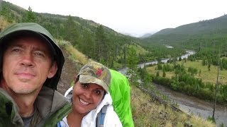 Backpacking The Lamar River Trail, Yellowstone National Park