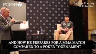 Ufc Legend Tito Ortiz Talks About The Similarities Between Mma And Poker At The Pca