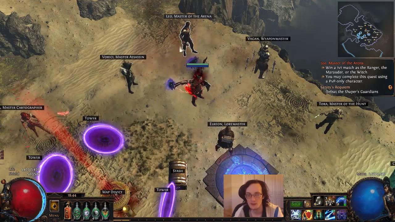Poe Saboteur Trap Build