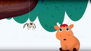 Теремок песенки для детей Мяо Мяо Глупышка паучок Itsy Bitsy Spider Песенки для детей