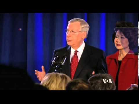 Republicans Win Control Of US Senate In Midterm Elections