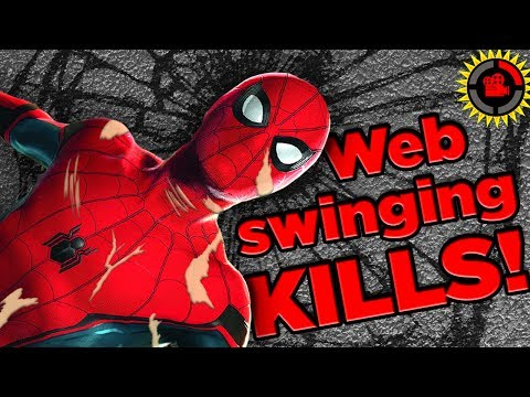 Film Theory: Spiderman is DEAD! Web Swinging's Tragic Truth (Spider-Man: Homecoming)