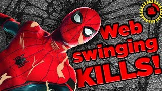 Film Theory: Spiderman is DEAD! Web Swinging