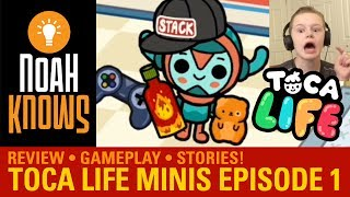 Toca Life: Minis (Toca Boca) ★ Gameplay Episode 1 ★ That's NOT Soda!