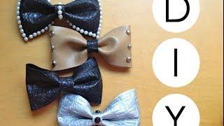 DIY- No-Sew Fabric Hair Bows! Thumbnail