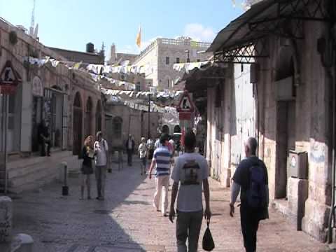 inside the old city  the christian quarter