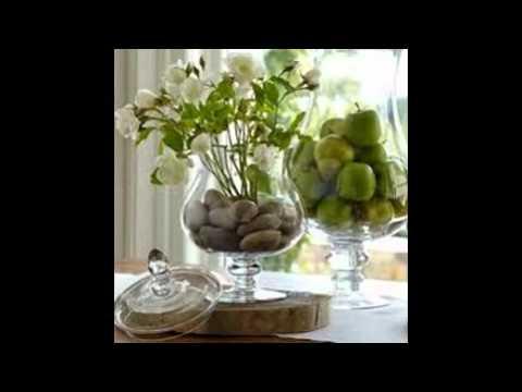 Идеи для интерьера! Прозрачные вазы!