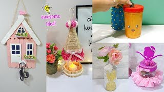 5 Wow! Lovely Easy Cheap Diy Crafts To Make Your Table/Room Beautiful! Diy Crafts