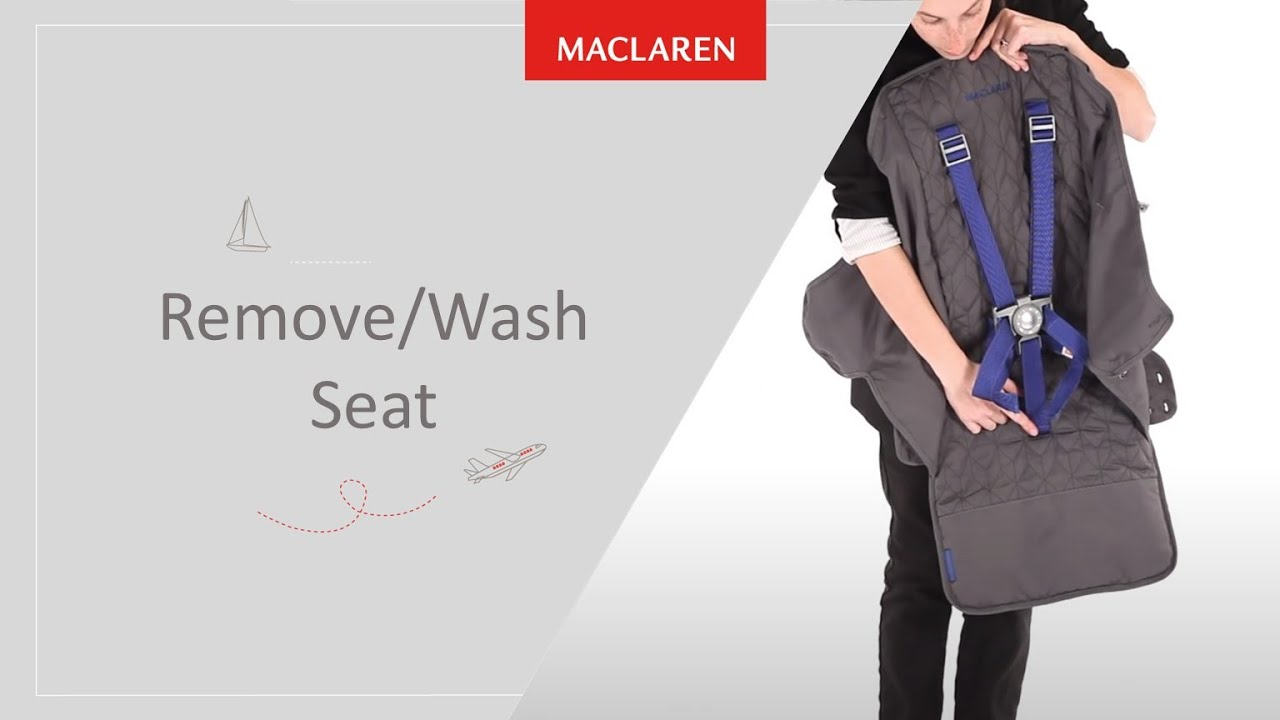 How to remove/wash seat - YouTube
