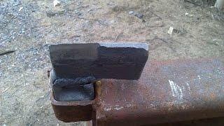 Кузнечный инструмент подсечка своими руками, для рубки металла(Кузнечный инструмент