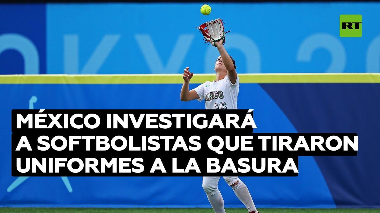 México investigará a softbolistas que tiraron uniformes a las basura