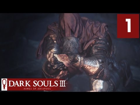 Ashes of Ariandel DLC Gameplay Part 1 - Dark Souls 3 is back! - Lets Play Ashes of Ariandel