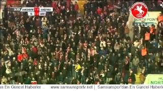 İlk Gol | Samsunspor 1-0 Karşıyaka | Gol Mbilla |