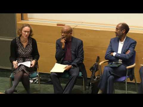 "In Honour of Dr.Hussain ""Tanzani"" Adam and Prof. Said Samatar. Somali week Day 7"