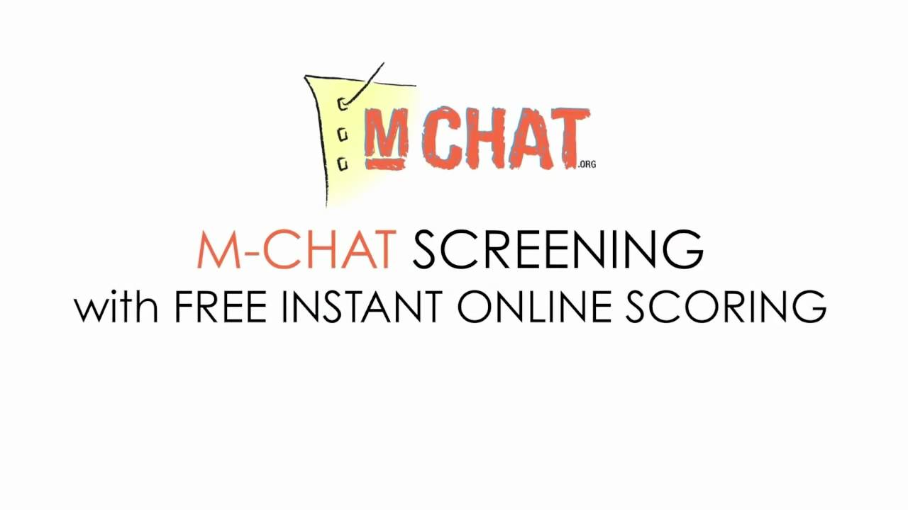 autism screening mchat online m chat org youtube