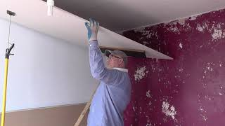 DIY: Boarding Over An Artex Ceiling / Overboarding A Ceiling