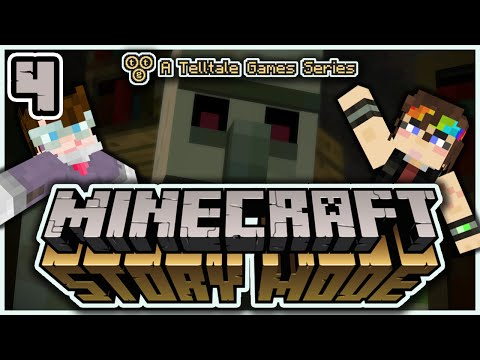 Minecraft: Story Mode (E1#4) - Basement Boss!