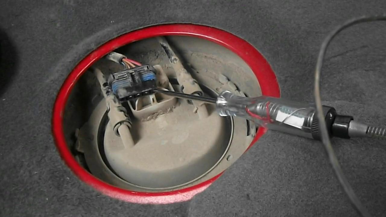Opel Corsa C PUMPA GORIVA  Fuel pump  YouTube