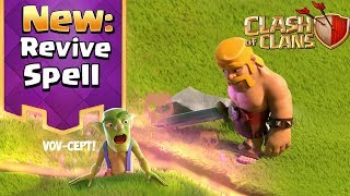 NEW REVIVE SPELL - Clash of Clans Update Vov-Cept and $250 GIVEAWAY!