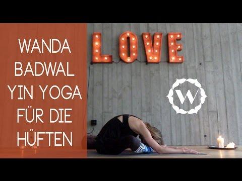Yin Yoga für offene Hüften - YouTube