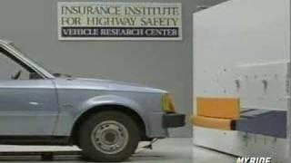 Краш-тест и видео краш-тест Ford Escort (Форд Ескорт)