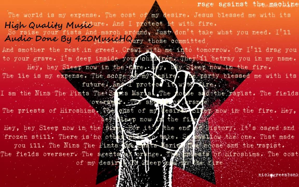 Rage Against The Machine Greatest Hits Hq Youtube