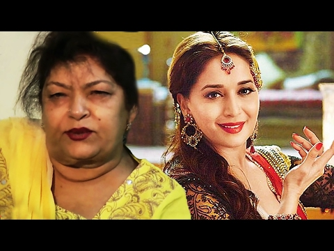 Angry Saroj Khan INSULTS Madhuri Dixit, Calls Her Assistant