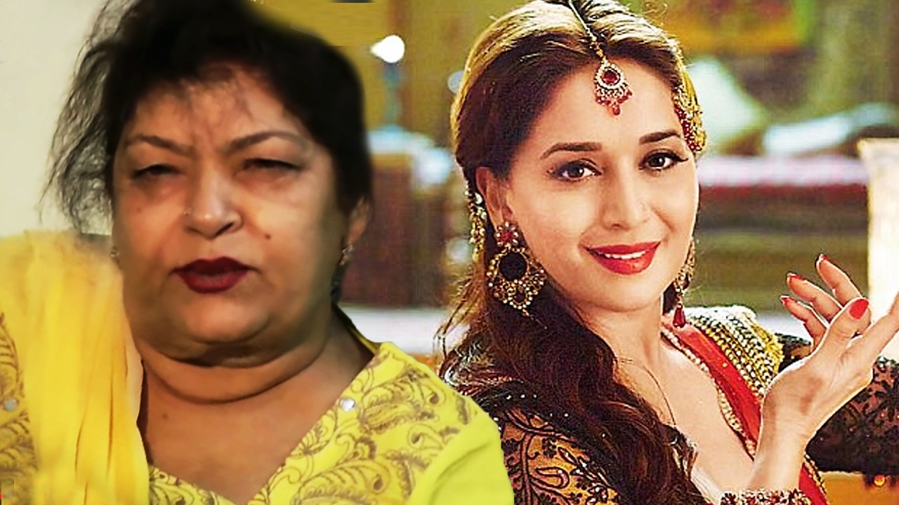 Angry Saroj Khan INSULTS Madhuri Dixit, Calls Her Assistant - YouTube