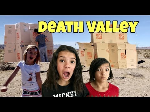 DEATH VALLEY BOX FORT TAG | CAPTURE THE FLAG!