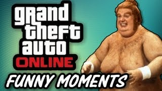GTA 5 Online Funny Moments #1 - Dump Truck Glitch, FLYING TRUCKS, Banana Penis (GTA Online Gameplay)