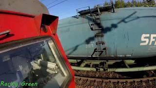 Зацеперы спалились локомотивной бригаде грузового поезда   Помощник машиниста прибежал их ловить