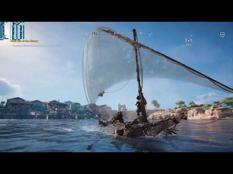 Assassin's Creed: Origins i7 8700k + 1080 Ti Alexandria Performance Test 1440p