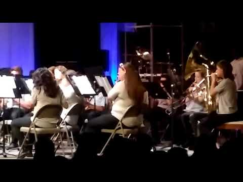 91st Psalm Christian School high school band fall concert 11/16/17