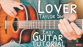 Lover Taylor Swift Guitar Tutorial // Lover Guitar // Guitar Lesson #720
