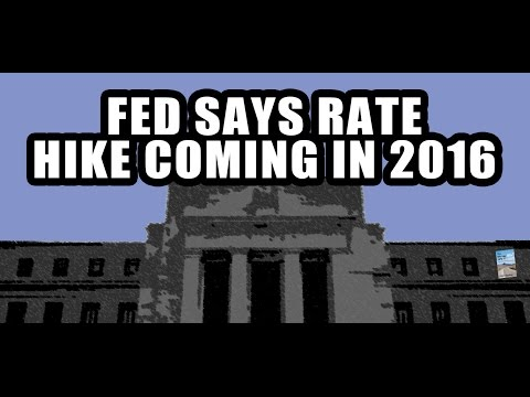 Fed: Interest Rate Rise COMING September 2016! Will They Pull the Trigger?
